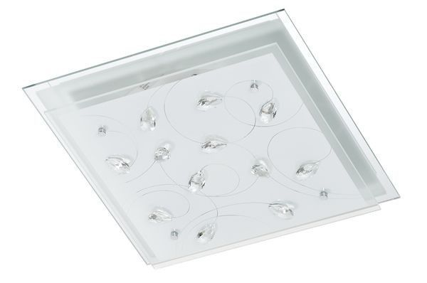 MDC RUSKY 57431-3092 Plafón cristal decorativo Rusky 42