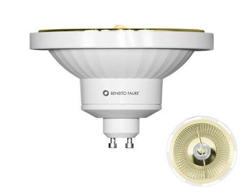 Beneito & Faure AR111 3470 Bombilla LED AR111 15W GU10 45º Cálida 2700K