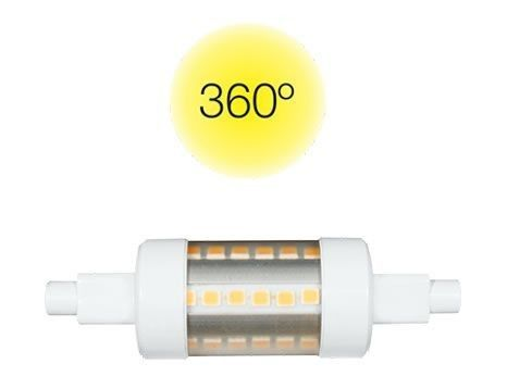 Beneito & Faure Lineal 140026-F4T Bombilla LED lineal 78mm 5W Neutra 4000K