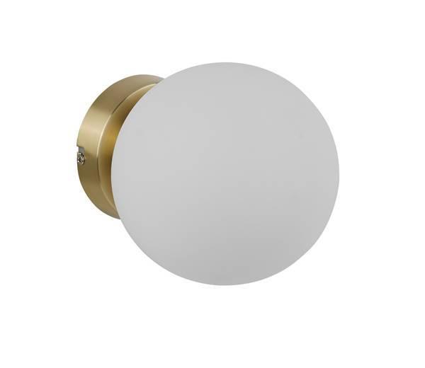 MDC RONDA 577736101 Aplique con bola opal Latón Mate